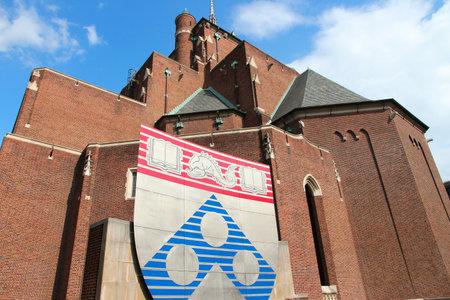 PHILADELPHIA, USA - JUNE 11, 2013: University of Pennsylvania (Penn) in Philadelphia. The university exists since 1740 and had 21,599 students in 2018.