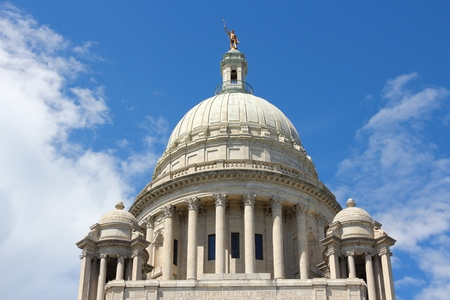 State capitol in Providence, Rhode Island. City in New England region of the US. Editorial