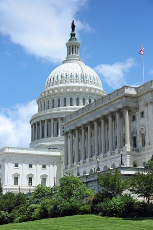 US National Capitol in Washington, DC. American landmark. United States Capitol. Editorial