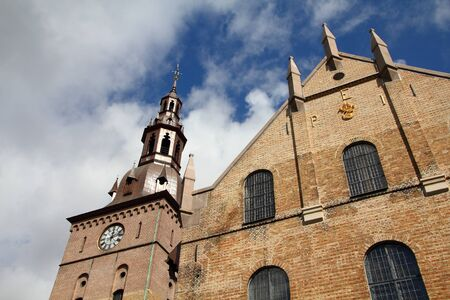 Oslo, capital city of Norway - the Cathedral exterior. Lutheran church. Stock Photo