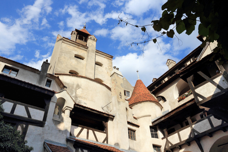 Bran Castle, Transylvania, Romania. Medieval landmark of Romania.