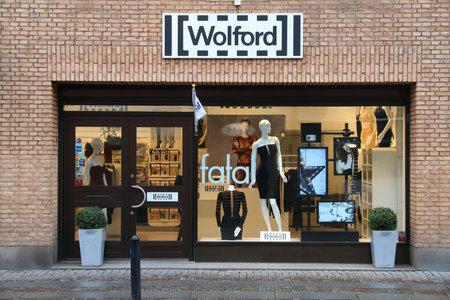 GOTHENBURG, SWEDEN - AUGUST 27, 2018: Wolford fashion store in Gothenburg, Sweden. Wolford is an Austrian apparel brand present in 60 countries.
