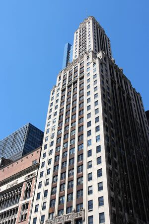 CHICAGO, USA - JUNE 28, 2013: Willoughby Tower in Chicago, USA. Willoughby Tower is a skyscraper built in 1929. It is located at Michigan Avenue.