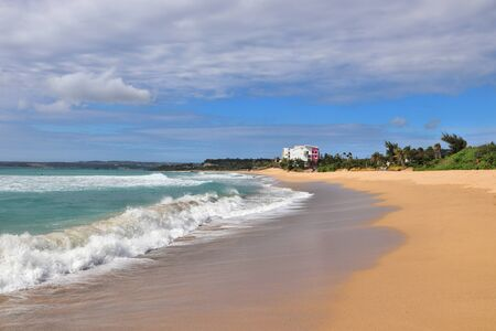 Kenting Beach in Taiwan. Landscape of Kenting National Park.