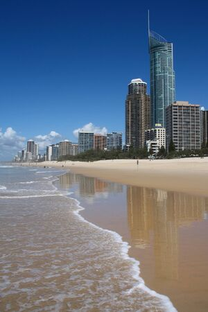 Surfers Paradise city, Australia - skyline in the Gold Coast. 写真素材