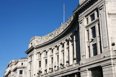 London, UK - old architecture of Regent Street.