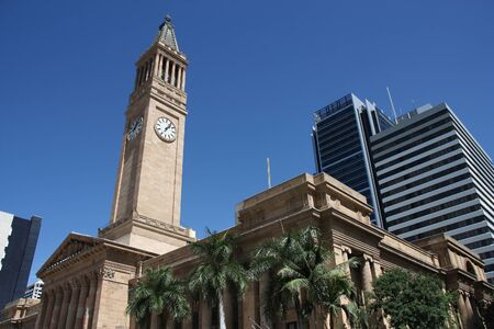 Brisbane City Hall - municipal government building in Australia.