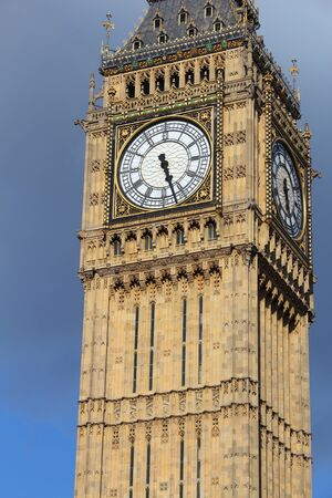 Big Ben clock tower. Landmark of London, UK.