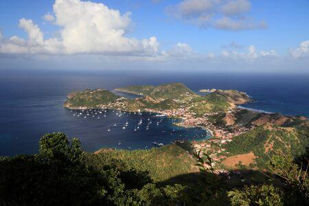 Guadeloupe - Iles des Saintes. Baie de Terre de Haut. Banque d'images