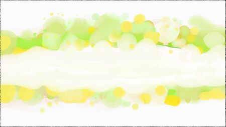 Abstract green watercolor splash background with copyspace.