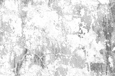White grey grunge distressed background. Grungy vector texture.
