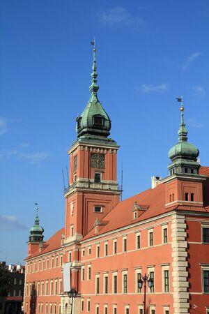 Warsaw Royal Castle, Poland. Banco de Imagens