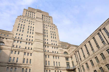University of London (UK) - Senate House building.
