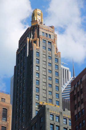CHICAGO, USA - JUNE 27, 2013: Carbide & Carbon Building in Chicago, USA. The Art Deco style landmark is located on Michigan Avenue.