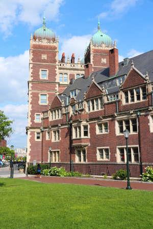 Philadelphia USA - University of Pennsylvania (UPenn). Quadrangle Dormitories (the Quad).