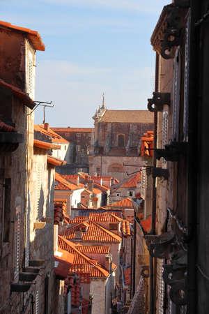 Dubrovnik, Croatia. Medieval Old Town.