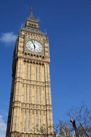 Big Ben clock. in London UK. Landmark of London. Stock Photo