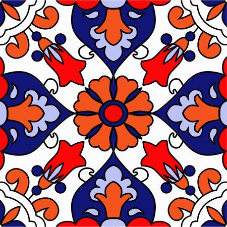 Pattern mosaic murals mural vector water vintage ornamental tile mosaic geometric tile
