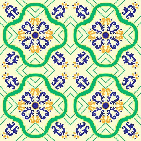 Pattern mosaic murals mural vector water vintage ornamental tile mosaic geometric floral carpet.