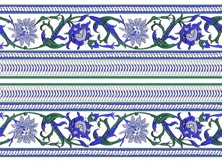 Pattern mosaic murals mural vector water vintage star ornamental tile mosaic red geometric tile Illustration