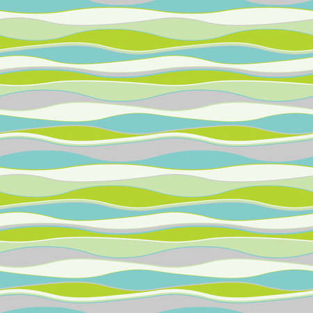 stratum: Colorful wavy background. Seamless pattern. Vector. Illustration