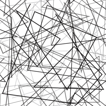 Aléatoire lignes de fond. Seamless. Vecteur.