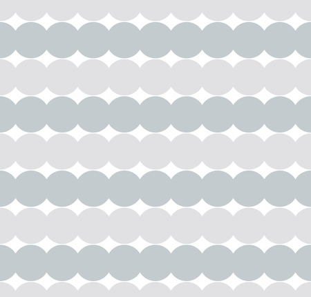 consecutive: Grey Consecutive circles background. Seamless pattern. Vector.