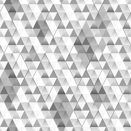 Random triangle background. Seamless pattern. Vector.