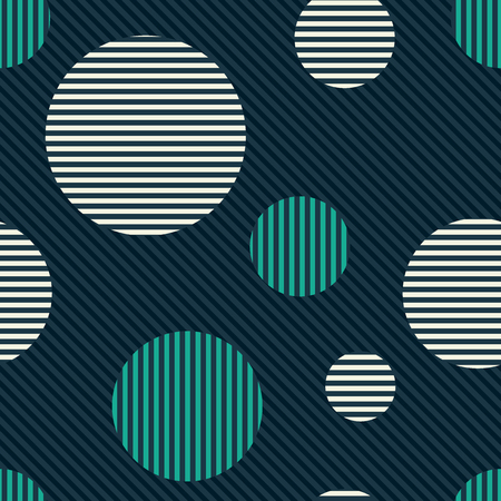 Retro background. Seamless pattern Ilustrace