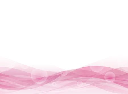 ピンク フローティング バック。シームレス パターン。ベクトル。