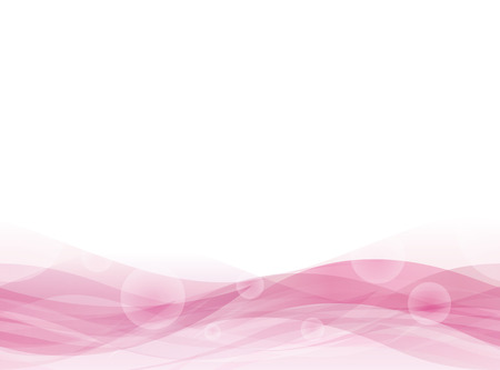 Pink Wavy floating background. Seamless pattern. Vector.