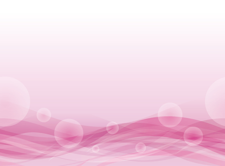 Pink Wavy floating background. Seamless pattern. Illustration