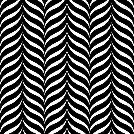Stylish wavy background. Seamless pattern.