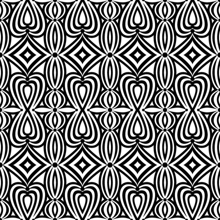black wall: Gorgeous background. Seamless pattern. Vector. Illustration