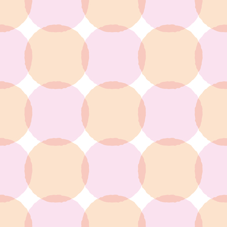 Consecutive circles background. Seamless pattern.