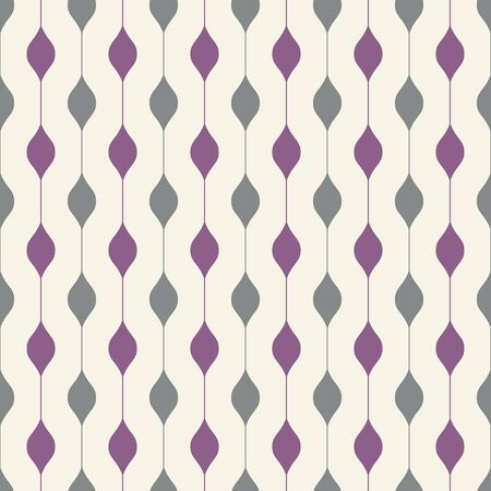 Stylish retro background. Seamless pattern. Vector.