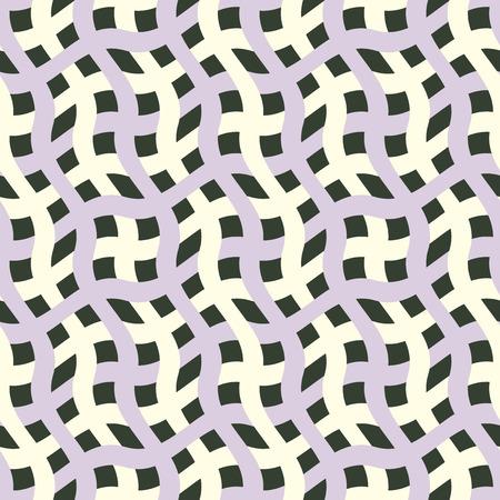 Sfondo astratta ondulata. Seamless pattern. Vettore.