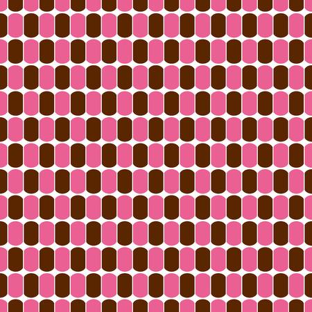 ellipse: Retro background of an ellipse. Seamless pattern. Vector.