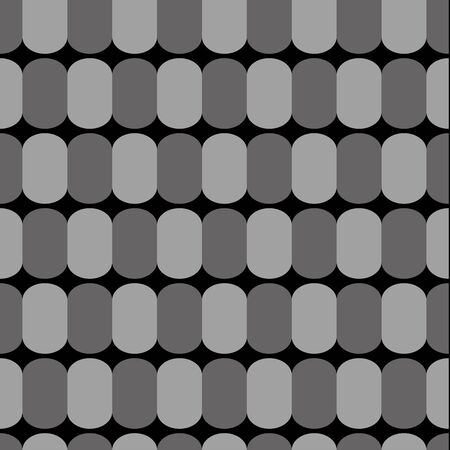 ellipse: Retro background of an ellipse. Seamless pattern. Vector.