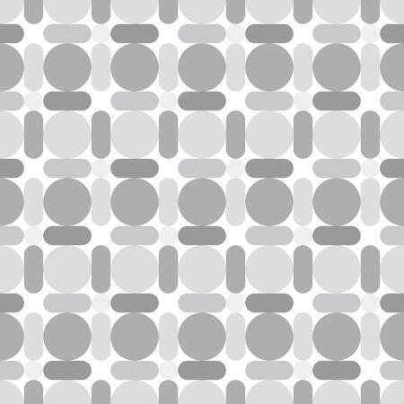 various: Various circles background. Seamless pattern. Vector.