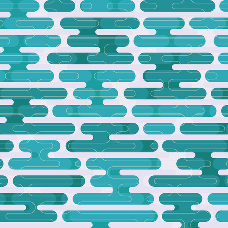Modern japanese background. Seamless pattern. Vector.