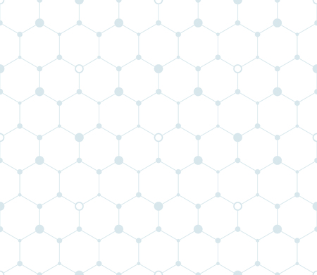 Digital hexagon background. Seamless pattern. Vector.