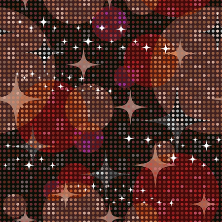 disco lights: Disco lights background. Seamless pattern. Vector. Illustration