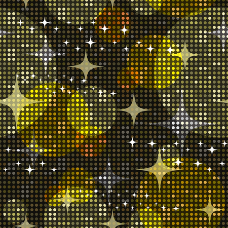Disco lights background. Seamless pattern. Vector. Illustration