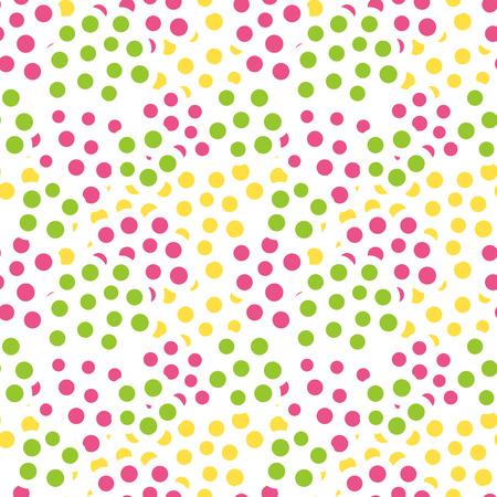 random: Random dots background. Seamless pattern. Vector. Illustration
