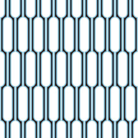 Background of rounded shapes. Seamless pattern. Vector.