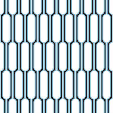 Sfondo di forme arrotondate. Seamless pattern. Vettore.