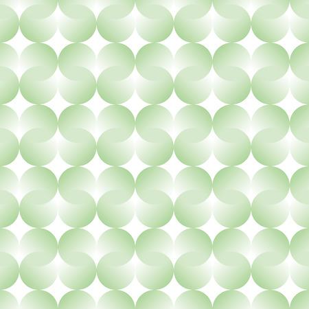 Gradation circles background. Seamless pattern. Vector.