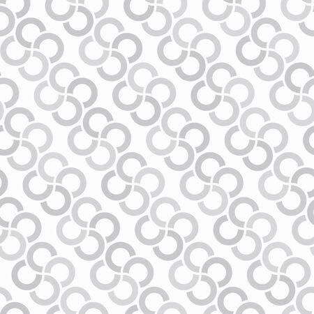 Consecutive circles background. Seamless pattern. Vector.