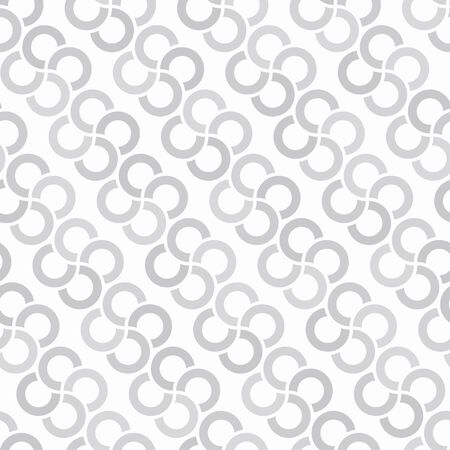 monotone: Consecutive circles background. Seamless pattern. Vector.